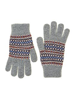 Dunkeld fairisle gloves