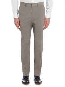 Simon Carter Melange Slim Fit Suit Trousers