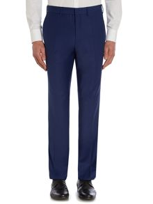 Satin Trim Slim Fit Trousers