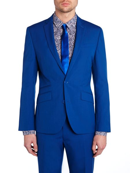 Kenneth Cole Landon Slim fit Notch Lapel Suit Jacket