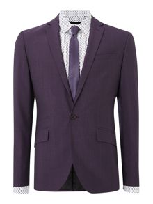 Kenneth Cole Earl Slim fit Notch Lapel Suit Jacket