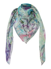 Flora dawn square scarf