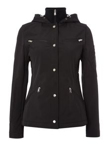 Zip up jacket soft shell