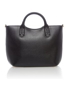 Tate black large convertible tote bag