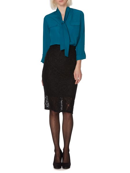 Therapy Lace pencil skirt
