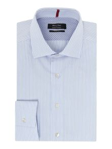 Simon Carter Stripe Slim Fit Shirt