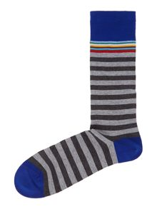Muli top stripe sock