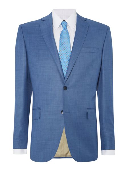 Corsivo Abaco Sharkskin SB2 Notch Suit Jacket