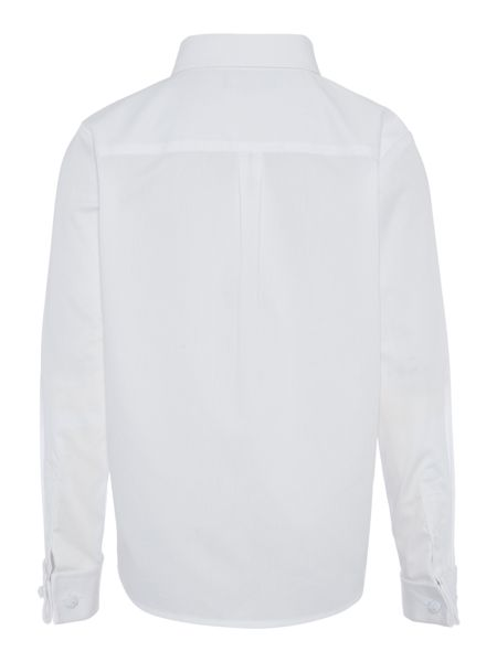 Howick Junior Boys Pleated Bib Long Sleeved Shirt And Bow Tie