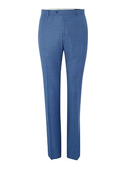 Men's Corsivo Abaco Sharkskin Flat Front Trousers