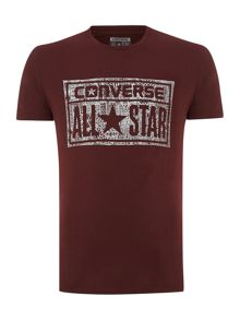 All Star Patch Print T Shirt