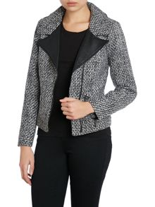 Sophisticated asymetric jacket