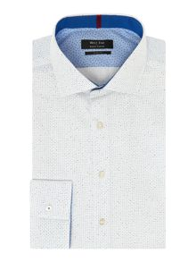Geometric Dot Slim Fit Shirt
