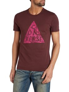 Triangle Print T Shirt