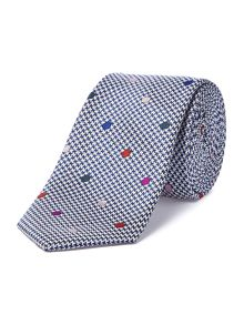 Acacia textured with multi spot tie
