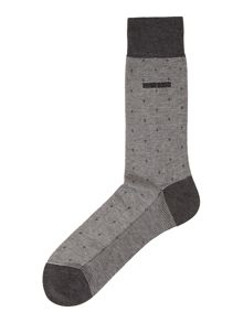 George colours polka dot sock