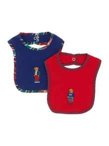 Boy`s bear bib set
