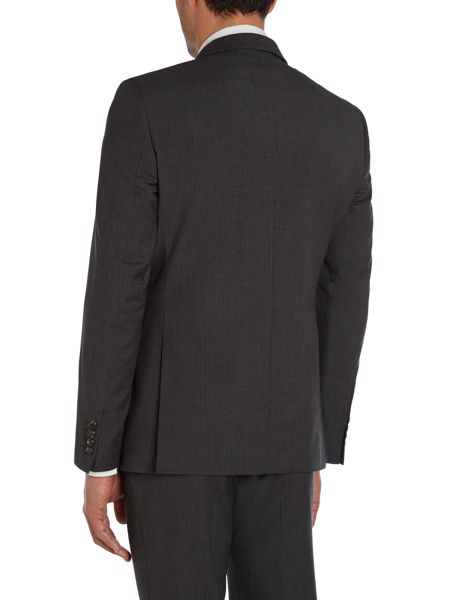 Simon Carter Ghost stripe slim fit suit jacket