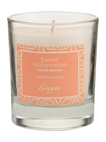 Sweet watermelon jar candle