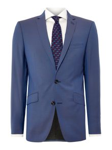 Simon Carter Two Tone Tonic Slim Fit Suit Jacket