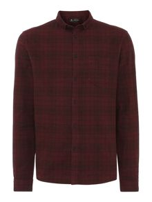 Jerry Plaid Check Long Sleeve Shirt