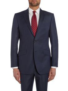 Simon Carter Pin Dot Regular Fit Suit Jacket