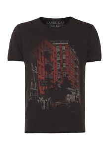 Liquor Street Scene Graphic T-Shirt