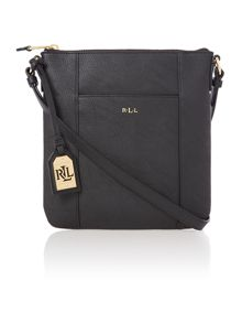 Aiden black cross body bag