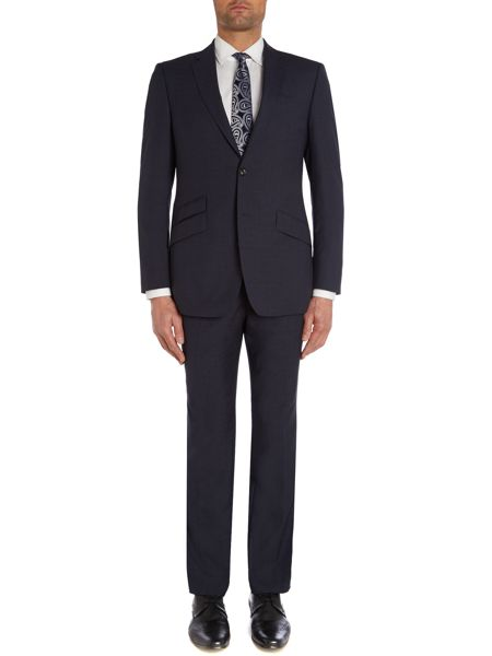 Simon Carter Textured regular fit suit jacket