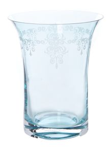 Etched Teal Vase range