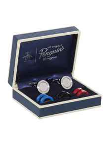Charim Coloured Cufflink Set