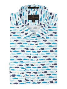 Whale Slim Fit Shirt