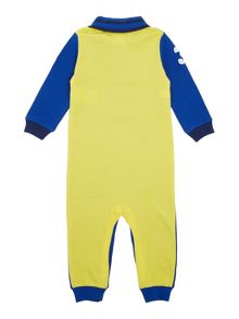 Boy`s badged polo bodysuit