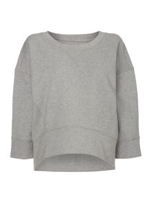 Relaxed boxy sweater