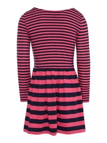 Girls Multi Striped Dress