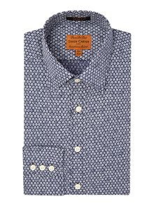 Daisy Geo Slim Fit Shirt