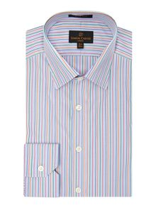 Multi Stripe Regular Fit Shirt