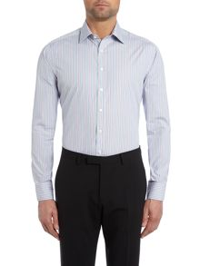 Simon Carter Multi Stripe Regular Fit Shirt