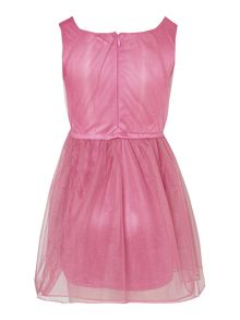 Girls puboss kids dress in pink