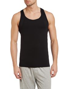 Brushed micro vest top