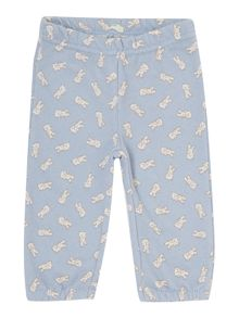 Baby animal print trousers