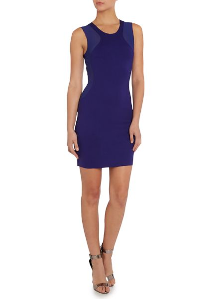 Silvian Heach Bodycon mesh detail dress