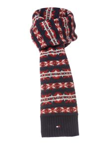 Harry fairisle scarf
