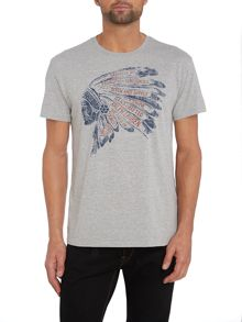 Headdress graphic t shirt