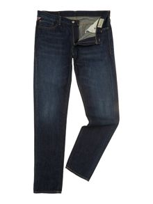 12.75oz tapered straight leg jean