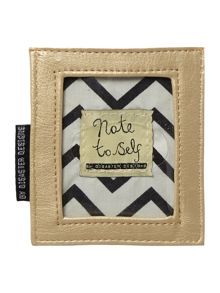 Note to self multi-coloured travel card holder