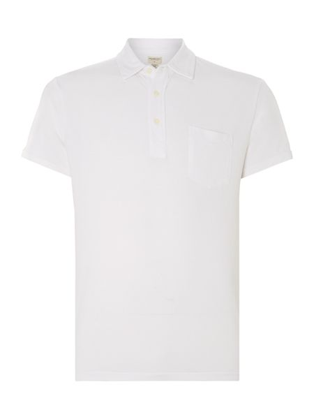 Denim and Supply Ralph Lauren Micro mesh pocket polo