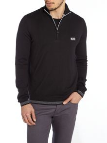 3/4 Zip Neck Jumper