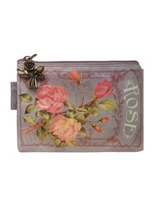 In bloom blue pouchette