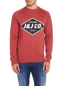 Mens silas crew neck sweat